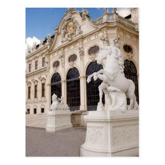Austria, Vienna, Belvedere Palaces, Upper Postcard