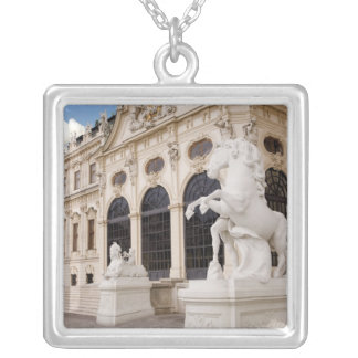 Austria, Vienna, Belvedere Palaces, Upper Silver Plated Necklace