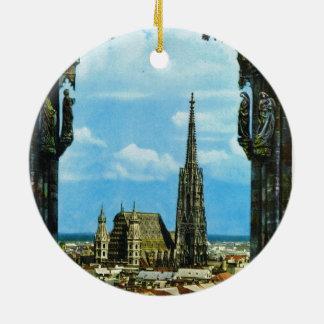 Austria, Vienna, St Stephen's Cathedral Ceramic Ornament