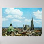 Austria, Vienna, St Stephen's cathedral Print