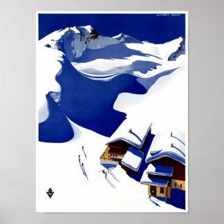 Austria Wunschheim Restored Vintage Travel Poster