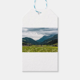 Austrian alps gift tags