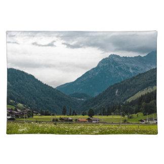 Austrian alps placemat