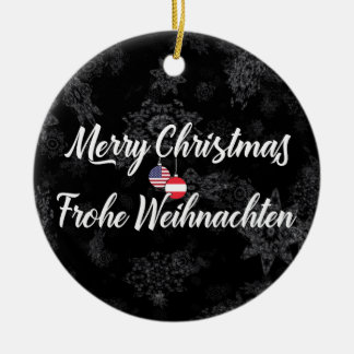 Austrian American Bilingual Holiday Decoration