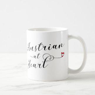 Austrian At Heart Mug, Austria Coffee Mug