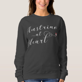 Austrian At Heart Sweatshirt, Austria Sweatshirt