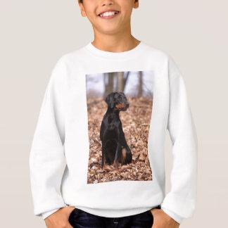 Austrian Black and Tan Hound Puppy Sweatshirt