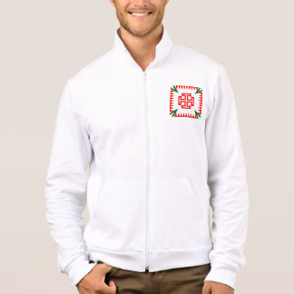 Austrian Fatherlandic Cross Men's Fleece Jacket