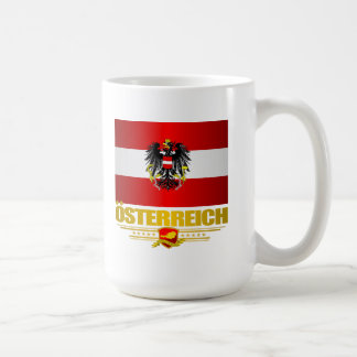 Austrian Flag 2 Coffee Mug