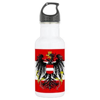 Austrian flag 532 ml water bottle