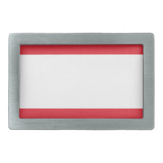 Austrian Flag Belt Buckles