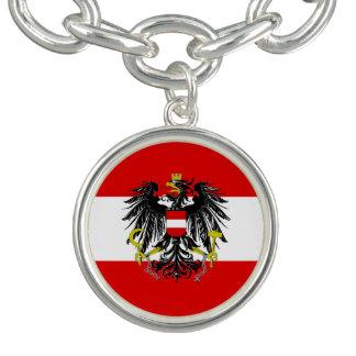 Austrian flag bracelet