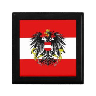 Austrian flag gift box