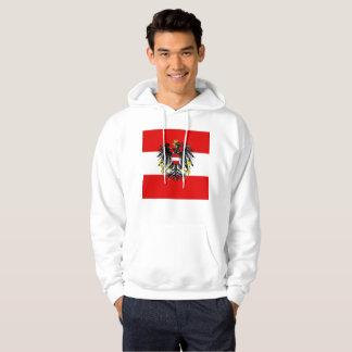 Austrian flag hoodie