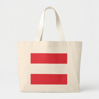 Austrian Flag Large Tote Bag