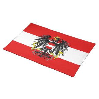 Austrian flag placemat
