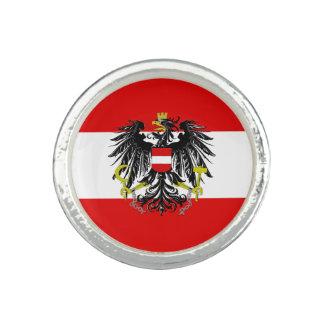 Austrian flag ring