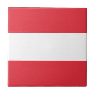 Austrian Flag Tile