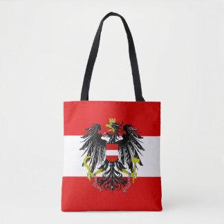 Austrian flag tote bag