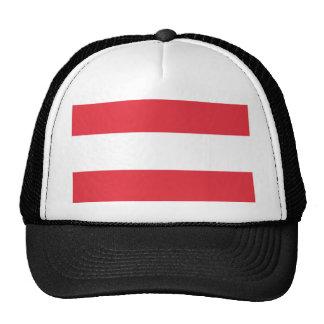 Austrian Flag Trucker Hat
