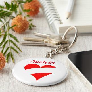 Austrian heart keychain