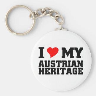 Austrian Heritage Keychain