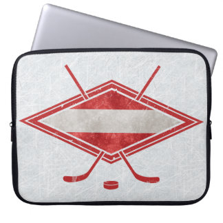 Austrian Hockey Flag Österreich Laptop Case
