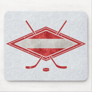 Austrian Ice Hockey Flag Österreich Mousemat Mouse Pad