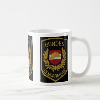 AUSTRIAN NATIONAL POLICE MUG