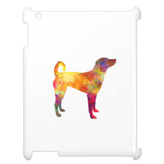 Austrian Pinscher in watercolor Case For The iPad 2 3 4