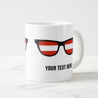 Austrian Shades custom mugs Jumbo Mug