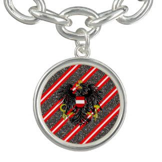 Austrian stripes flag bracelets