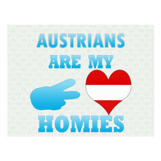 Austrians are my Homies Postcard