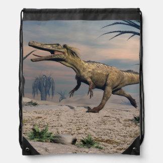Austroraptor dinosaur drawstring bag