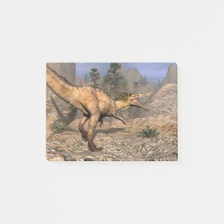 Austroraptor dinosaur post-it notes