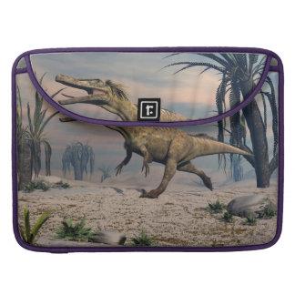 Austroraptor dinosaur sleeve for MacBook pro