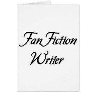 Auteur de fiction de fan cartes
