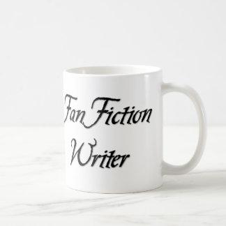 Auteur de fiction de fan mug blanc