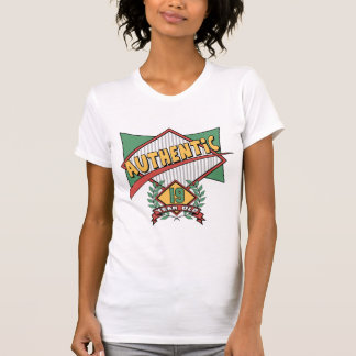 Authentic 19th Birthday Gifts T Shirt