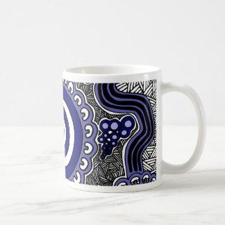 Authentic Aboriginal Art - Gathering Coffee Mug