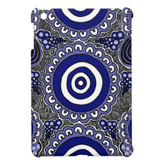 Authentic Aboriginal Art - Gathering iPad Mini Case