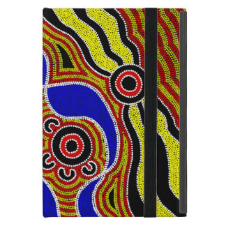 Authentic Aboriginal Art iPad Mini Case