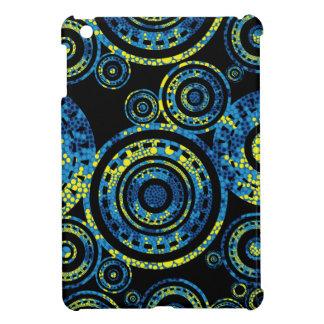 Authentic Aboriginal Art - Paisley Design Cover For The iPad Mini