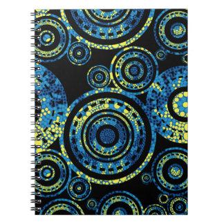 Authentic Aboriginal Art - Paisley Design Notebook