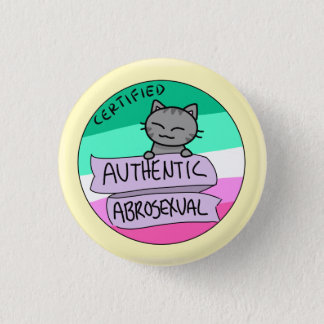 Authentic Abrosexual 1 Inch Round Button