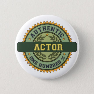 Authentic Actor 2 Inch Round Button