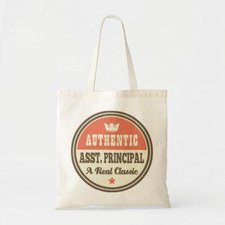 Authentic Assistant Principal Vintage Gift Idea Tote Bag