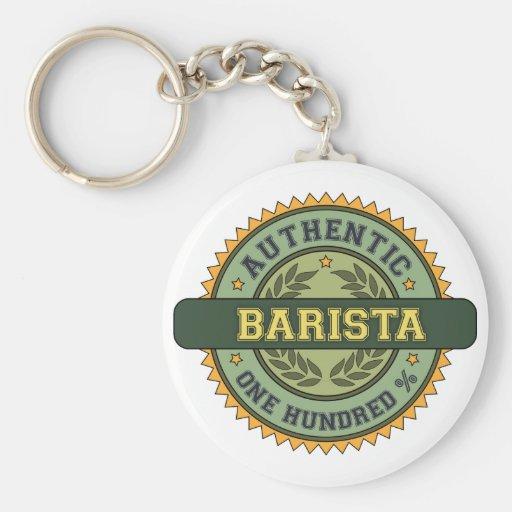 Authentic Barista Key Chain