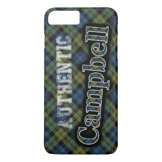Authentic Campbell Scottish Tartan Design iPhone 8 Plus/7 Plus Case