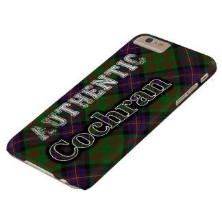 Authentic Clan Cochran Scottish Tartan Design Barely There iPhone 6 Plus Case